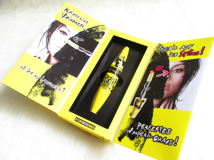 Review Tragebilder Maybelline Go Chaotic Mascara