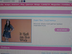 Featured in Candymag.com Style Files