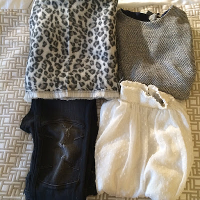 My Midlife Fashion, Leopard Print Scarf, Chiffon top, Zara, Biker Jeans, Distressed Denim