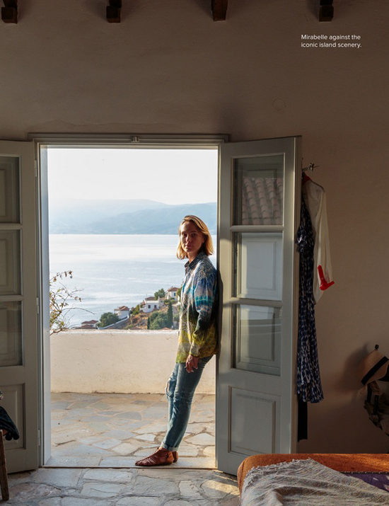 House of artist Brice Marden and family in Hydra, Greece #Hydra