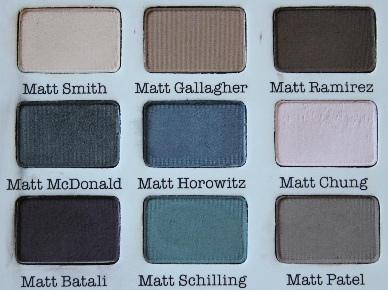 A picture of theBalm Meet Matt(e)