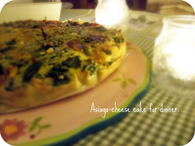 Asiago Cheese Cake -shabby&countrylife.blogspot.it