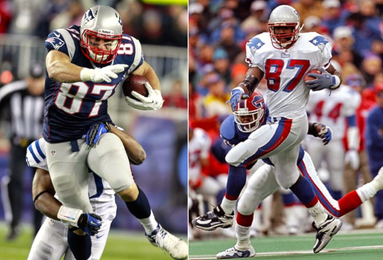 Ben Coates Rob Gronkowski vs Ben Coates give me Coates any day