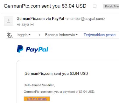pembayaran pertama germanptc.com