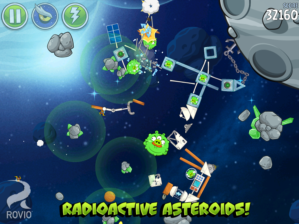 Games Angry Birds Space Android Apk Asik - 3