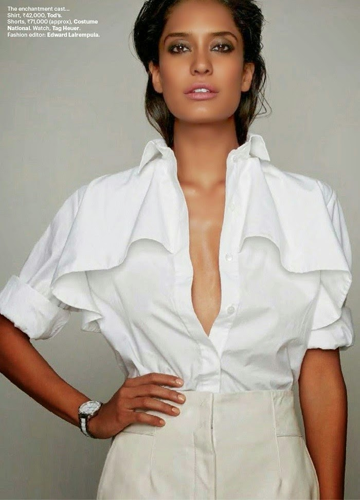 Lisa Haydon - Summer Hot Photoshoot for Harpers Bazaar April 2014