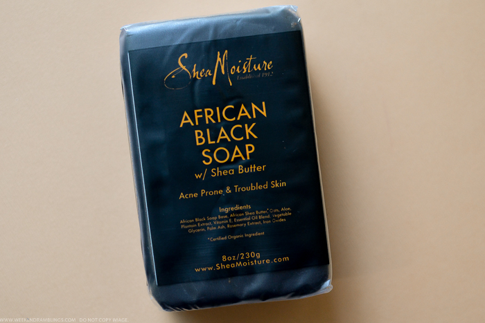 SheaMoisture African Black Soap Face Body Bar