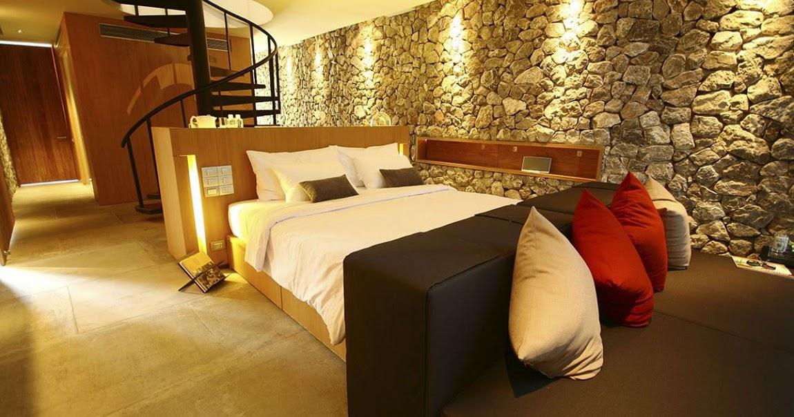 Interiores con piedras paredes ambientes gu a y - Guia para decorar ...