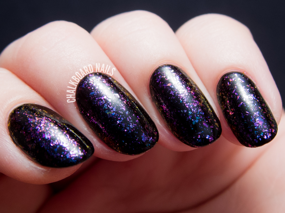 I Love Nail Polish - Luna via @chalkboardnails