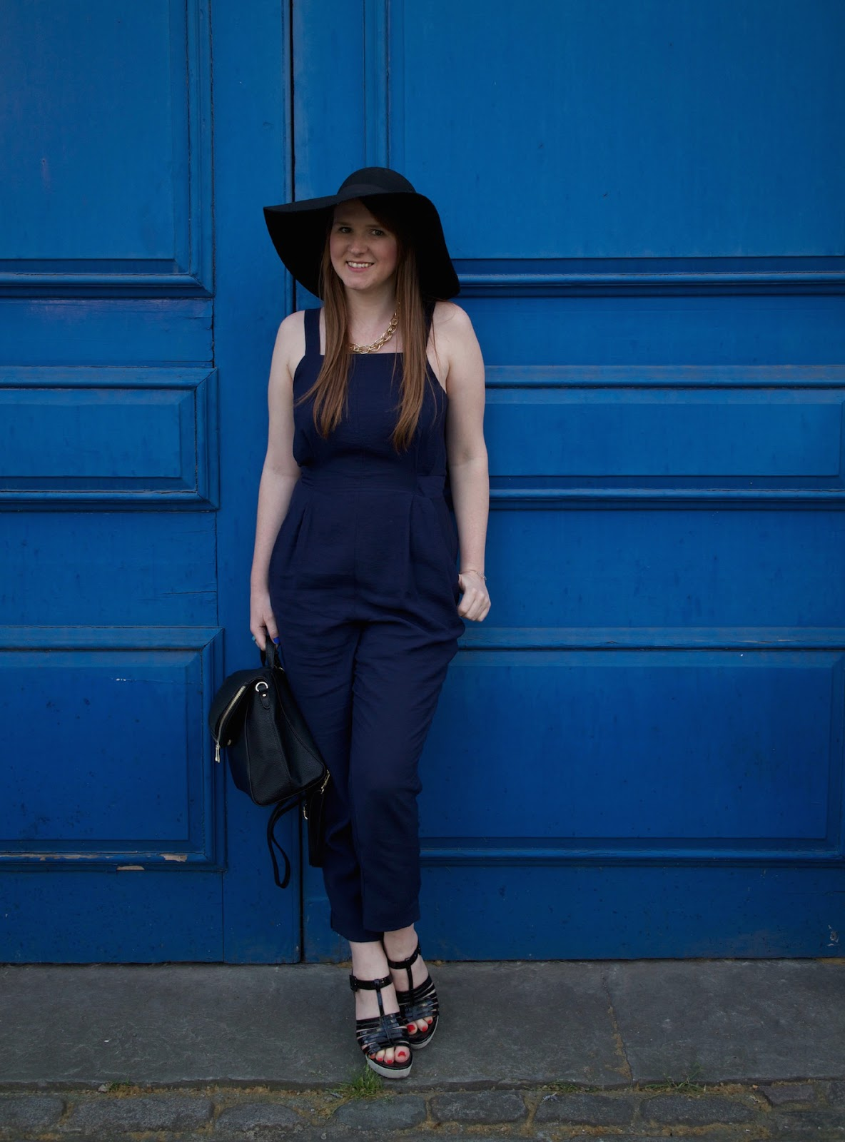 whistles maisie waisted jumpsuit blogger style pretty posh oh my gosh