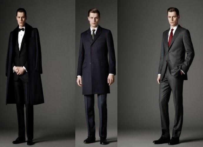 Vestido formal de caballero
