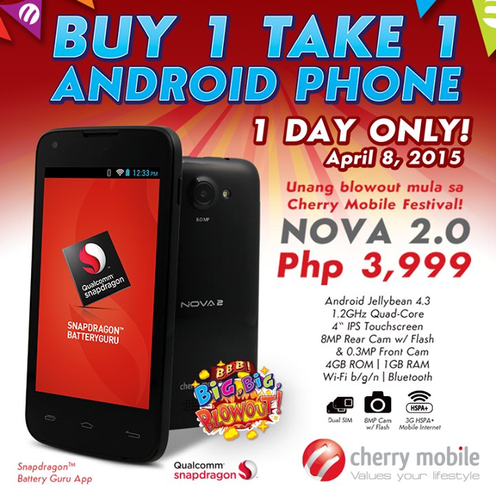 Cherry Mobile Nova 2.0 Sale