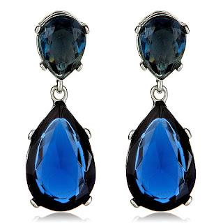 emerald drop earrings kenneth jay lane