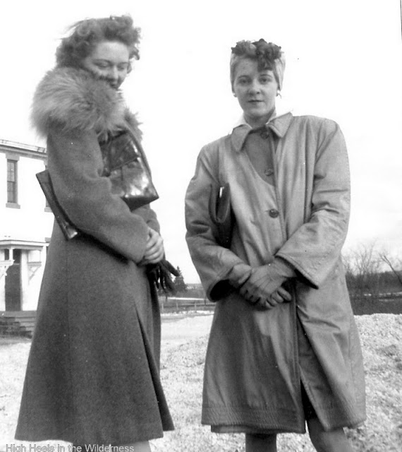 Marion and Gwyneth Sullivan, 1940s
