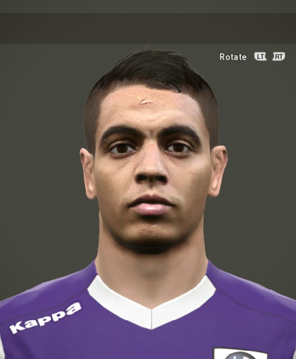 PES 2015 Ben Yedder Face by Zikri