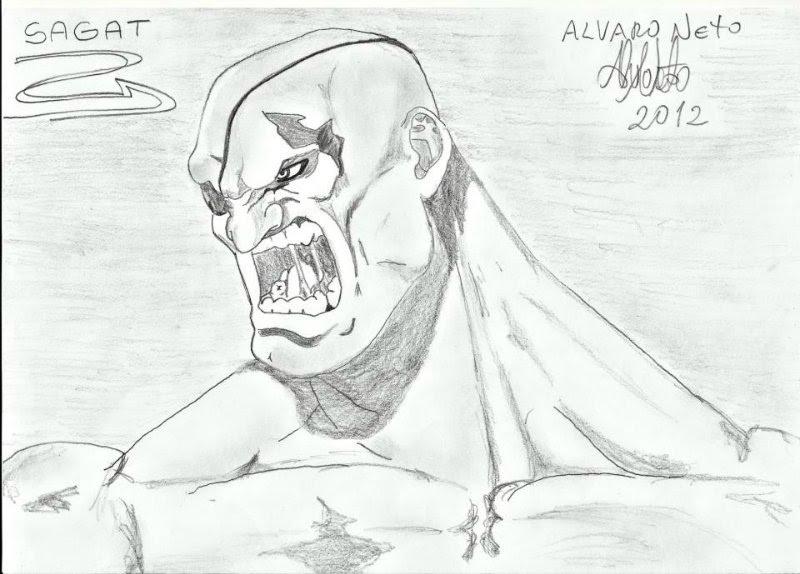 Sagat - Street Fighter (desenho)