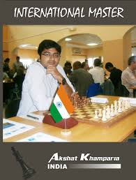 Mr. Akshat Khamparia, International Chess Master