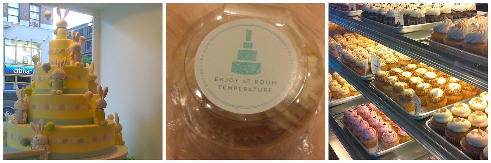Cupcakes i tartes d'Empire Cake