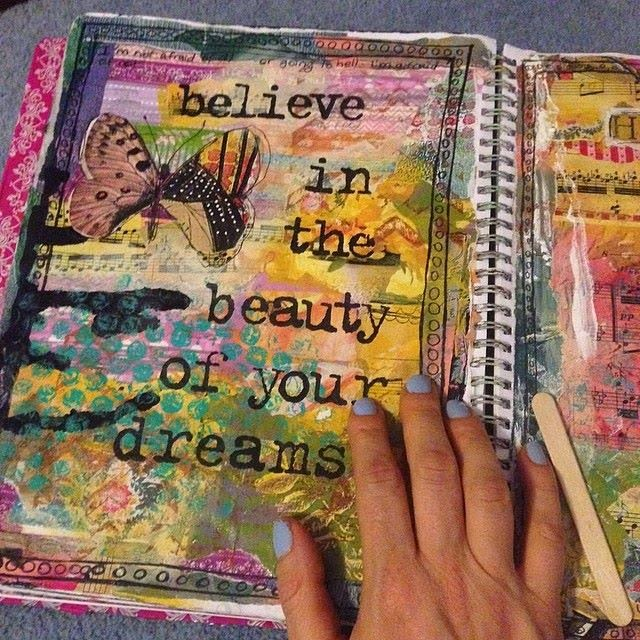art journal by SchulmanArt on schulmanArt.blogspot.com