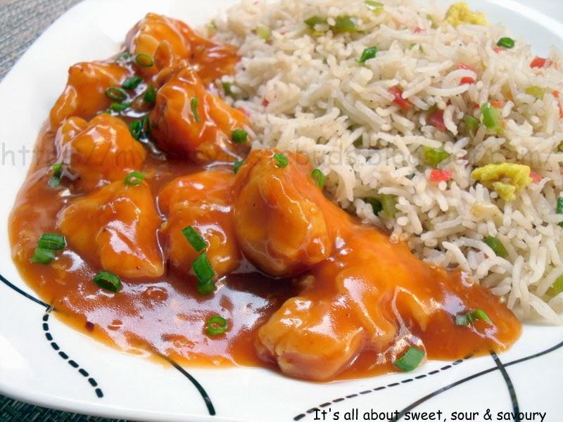 My spicy taste buds chicken manchurian chicken manchurian forumfinder Image collections