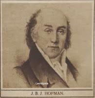 Toneelschrijver en speler Jan-Baptist-Jozef-Nicolaas Hofman (1758-1835)