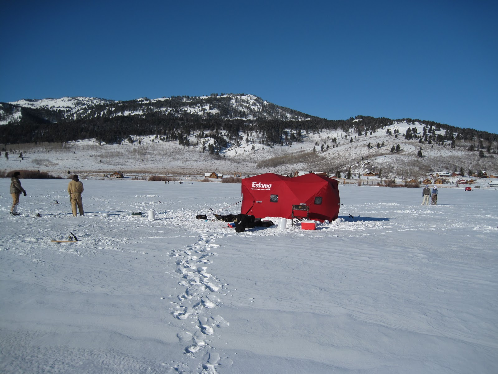 Idaho pursuit ice fishing time for Ice fishing idaho