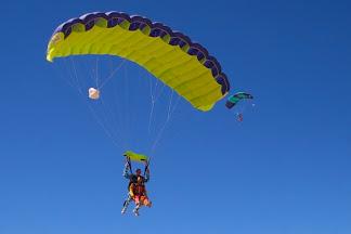 Skydiving, Swakopmund, Namibia