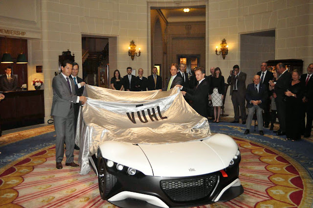 VUHL 05: Track Day Car Born in Mexico City, Powered by Detroit and Unveiled in London