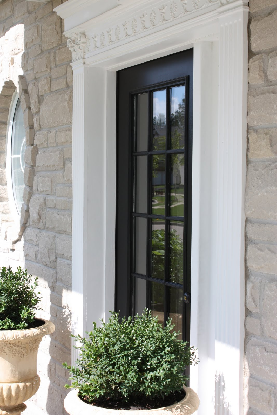 Exellent Black Glass Front Door How To Get A Custom And Inspiration Decorating