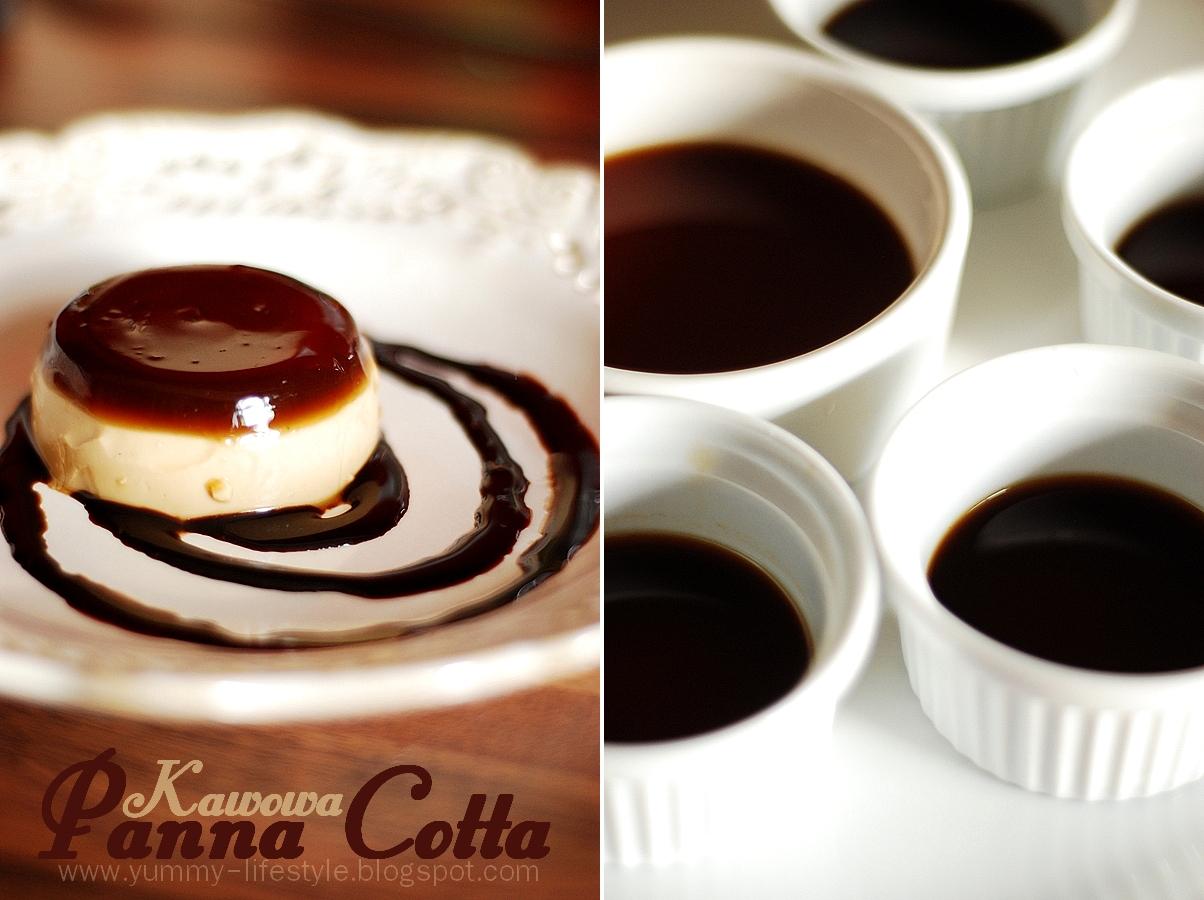 Kawowa Panna Cotta. / Coffee Panna Cotta. | Yummy Lifestyle
