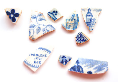 Thames Pottery Shards