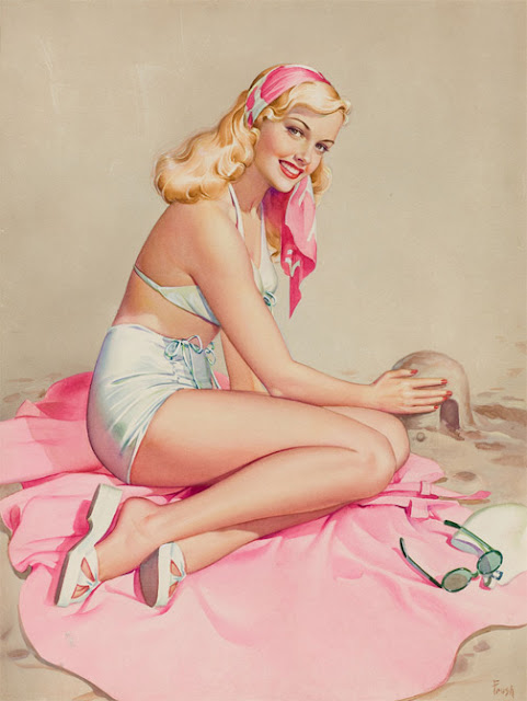 bijoux Pin-up illustration Pearl Frush vanessa lekpa accessoires vintage retro