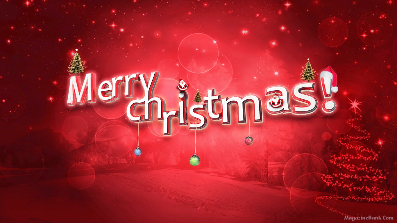 Happy Merry Christmas and Happy New Year Wishes Wallpapers
