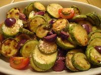 Salada de Abobrinha com Hortelã