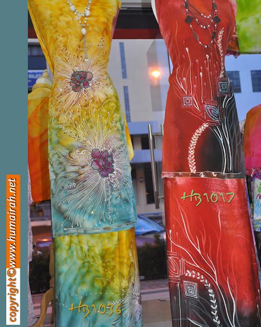 Batik Sutera Abstract Mawar dan Lalang - BATIK SUTERA
