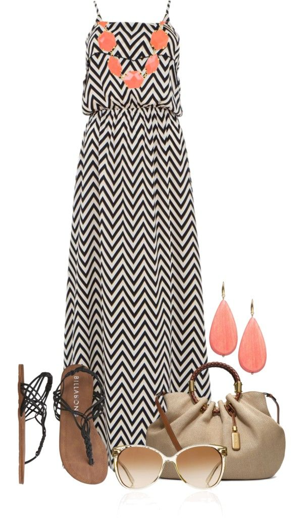 Beautiful Maxi Dress Summer Outfits
