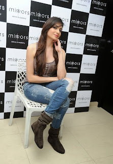 Actress Simran Kaur Latest Pictures in Jeans at Mirrors Salon 3rd Anniversary Event  5.jpg