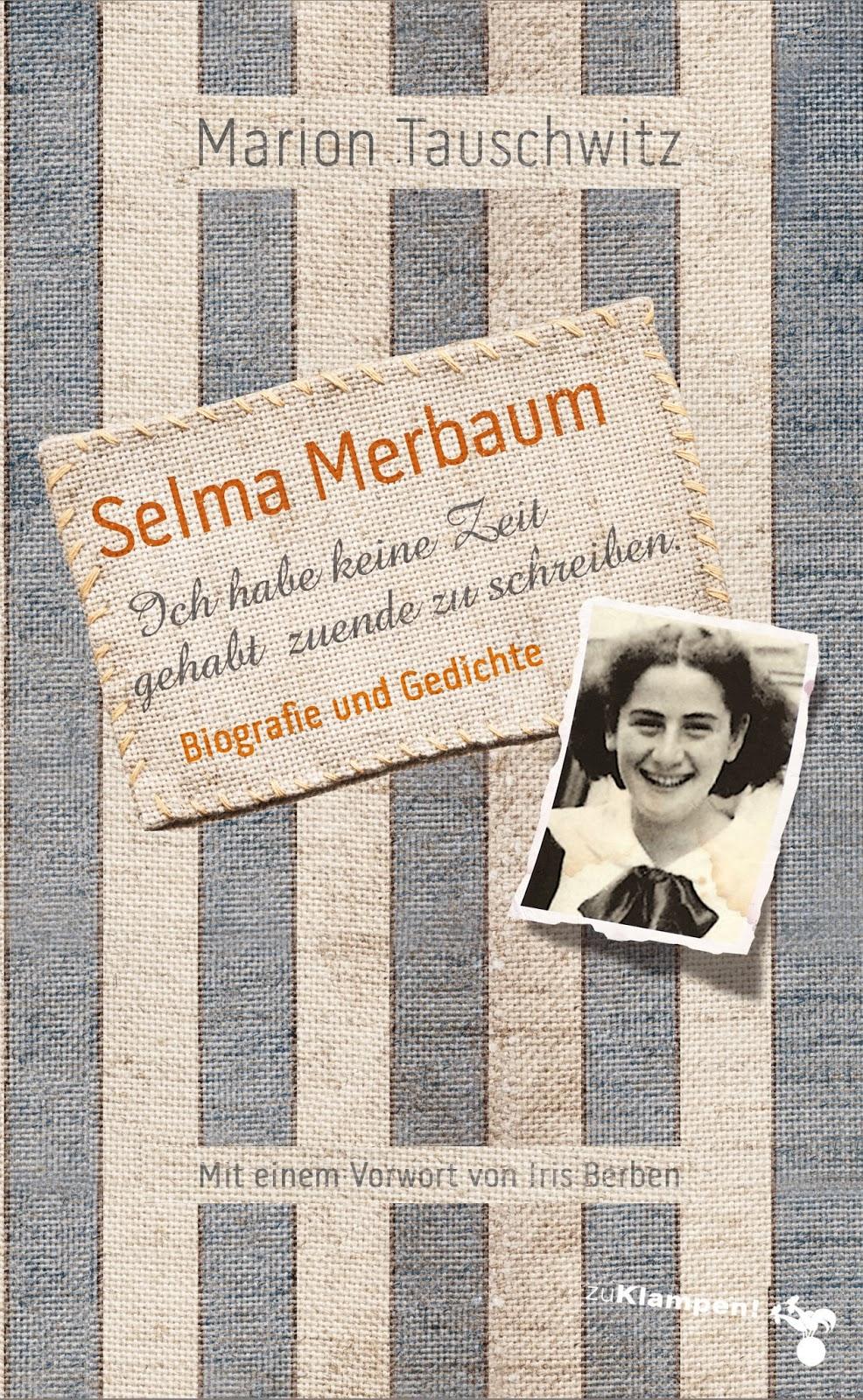 Psychosemitischer Buchblog Selma Merbaum Ich Habe Keine Zeit