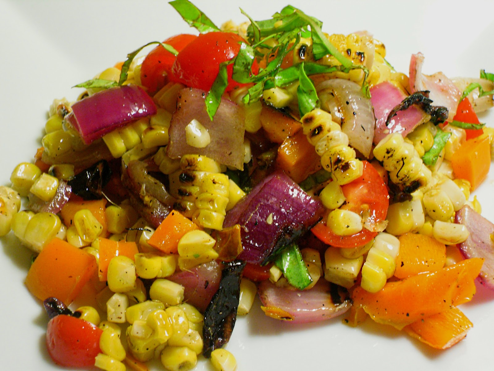 Comfy Cuisine: Fresh Grilled Corn Salad