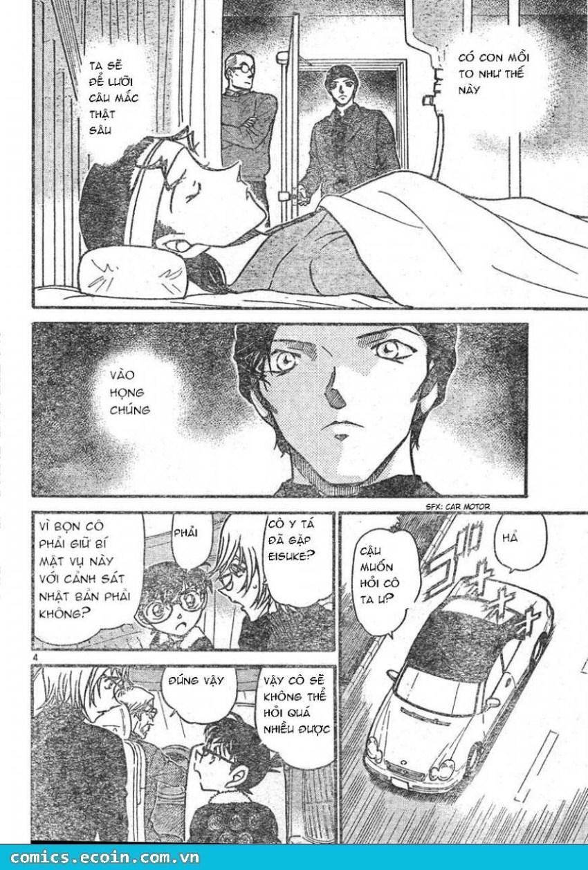 Detective Conan - Thám Tử Lừng Danh Conan chap 596 page 4 - IZTruyenTranh.com