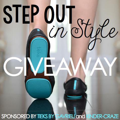enter to win a $100 TIEKS gift card from Kinder-Craze