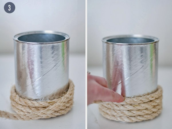 Co zrobić z puszki, słoika i kawałka sznurka? Świetna dekoracja DIY tutorial