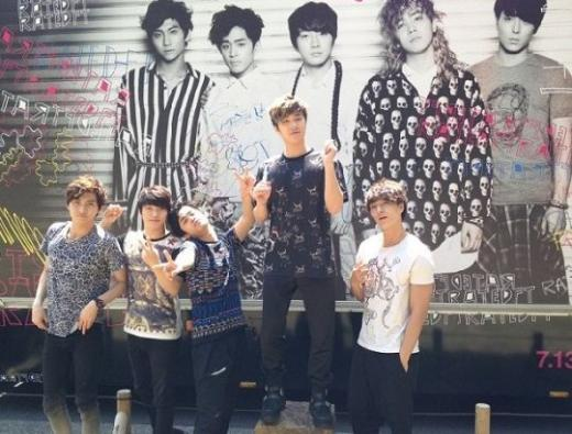 [NEWS] 130613 FT Island's promotional truck rolls around Japan Ftisland