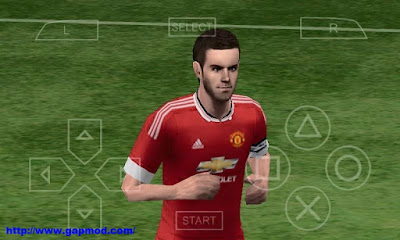Download PES 2016 Patch by PES MX iso PSP Android