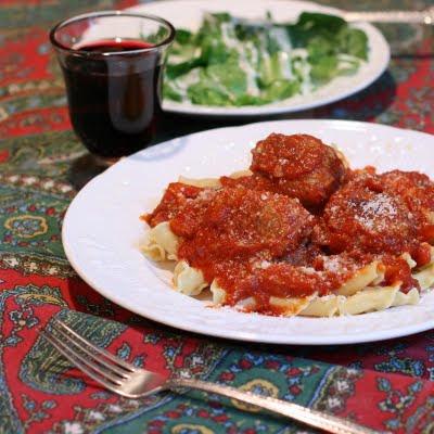 Bruce 39 S Kitchen Meatballs The Marcella Hazan Way