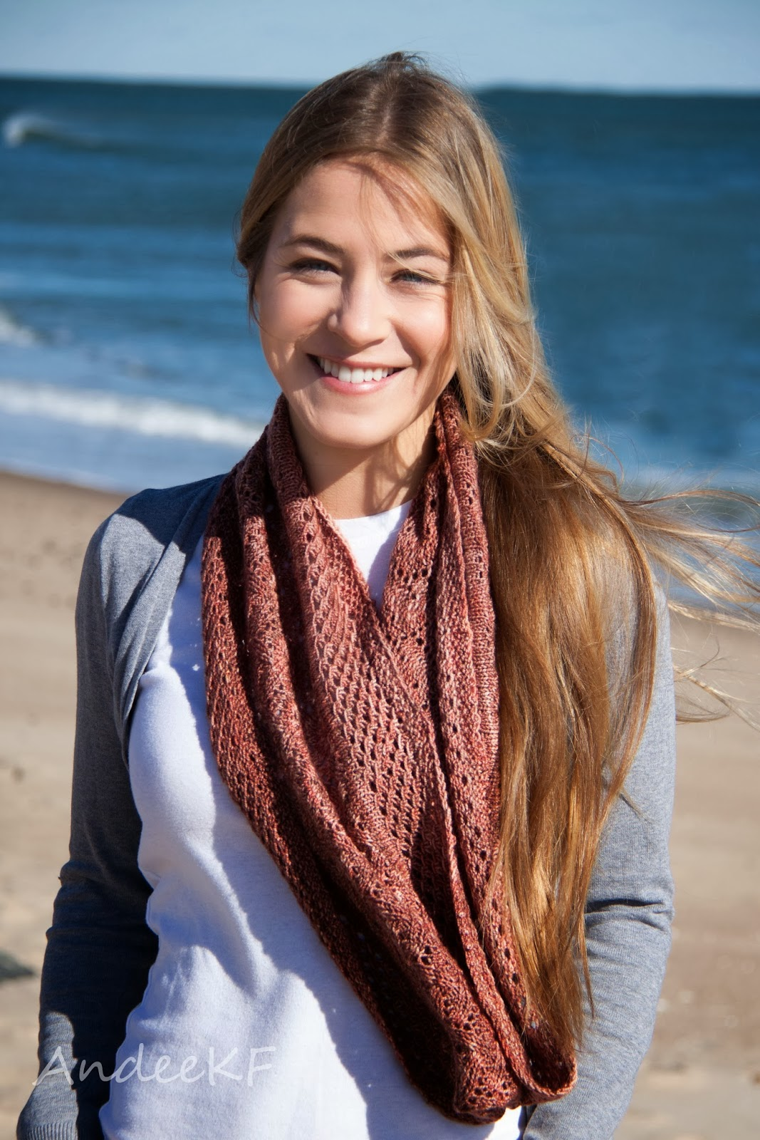 Match the Pictures: The Penny Infinity Scarf