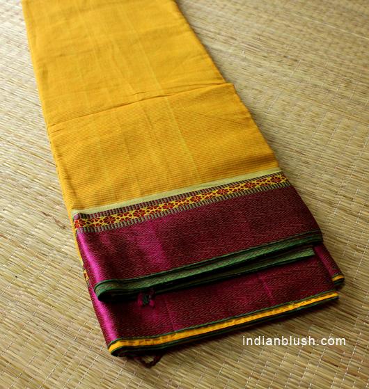 Tant Dhoniakhali or Dhonekhali Hand loom saree