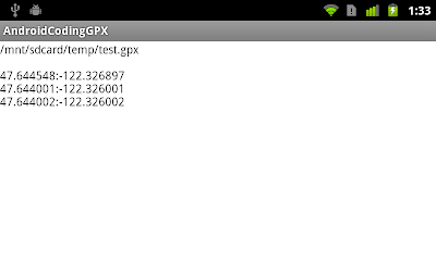 GPX decoding in Android