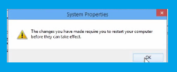 Windows-10, Advance System setting Screen-7