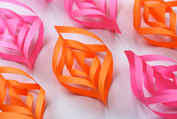 Christmas Decorations Diy With Paper : Diy paper christmas ornaments how about orange